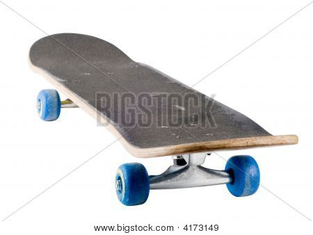 A Well Used Skateboard, Isolated