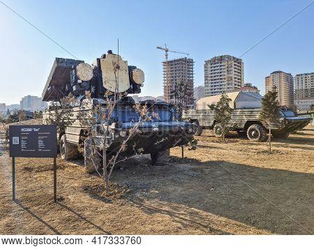 Osa On Baz-5937m, Low-altitude, Short-range Tactical Surface-to-air Missile System - Baku, Azerbaija