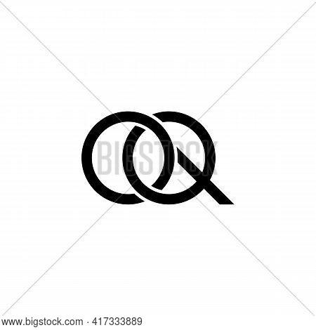 Illustration Vector Design Graphic Of Logo Letter Oq