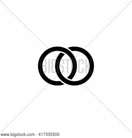 Illustration Vector Design Graphic Of Logo Letter Oo
