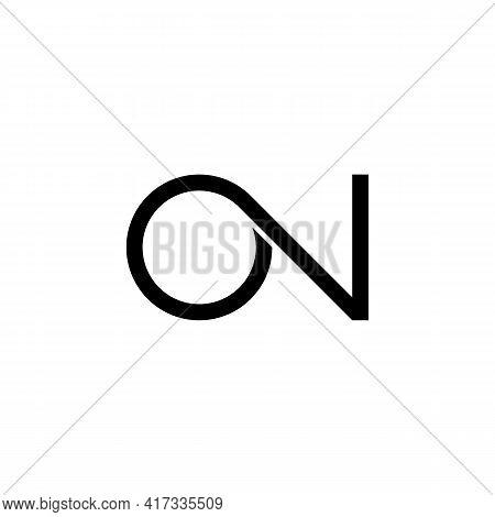 Illustration Vector Design Graphic Of Logo Letter O N