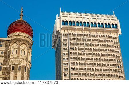 Heritage Grand Class Five-star Hotel In The Colaba Region Of Mumbai, Maharashtra, India, Next To The