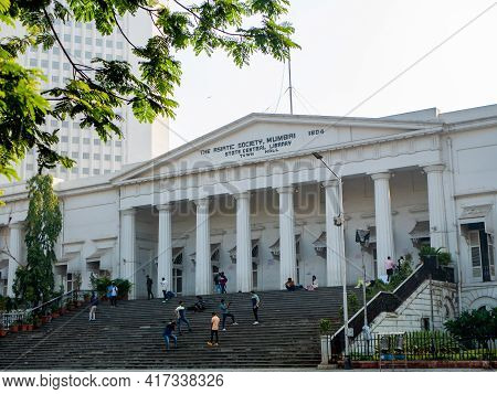 Mumbai, India - January 7, 2021 : The Asiatic Society Of Mumbai Is A Learned Society In The Field Of