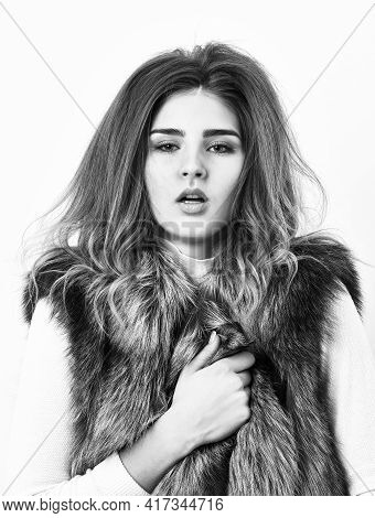 Boutique Selling Luxury Fur. Winter Fashionable Wardrobe. Silver Fur Vest Fashion Clothing. Luxury F