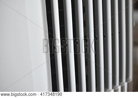 Air Cooler Radiator Air Conditioner With Air Flaps
