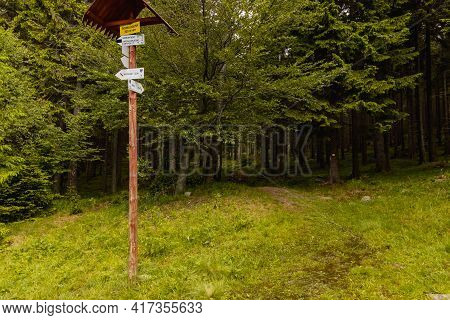 Giant Mountains, Poland - June 23 2020: Landmark