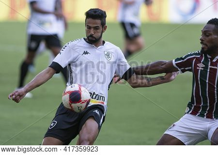 Rio, Brazil - April 17, 2021: Jonathan Player In Match Between Fluminense V Botafogo By Carioca Cham
