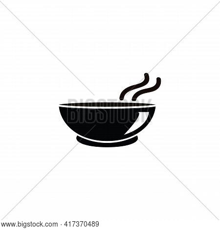 Bowl Icon Isolated On White Background From Food Collection. Bowl Icon Trendy And Modern Bowl Symbol