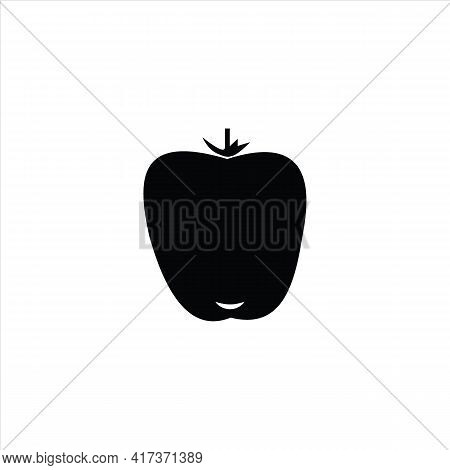 Paprika Icon Isolated On White Background From Fruits And Vegetables Collection. Paprika Icon Trendy