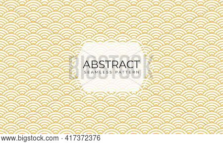 Abstract Seamless Pattern In Art Deco Style. Geometric Seamless Pattern With Stylish Classic Texture
