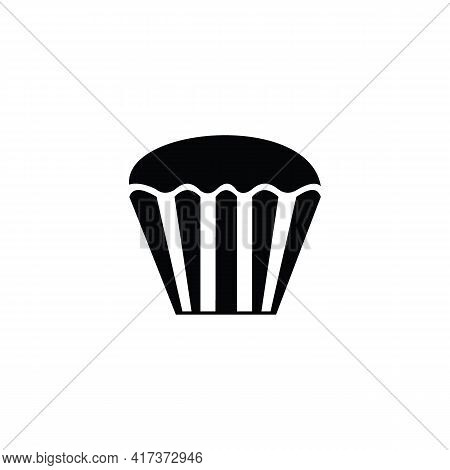 Cake Icon Isolated On White Background. Cake Icon Thin Line Outline Linear Cake Symbol For Logo, Web