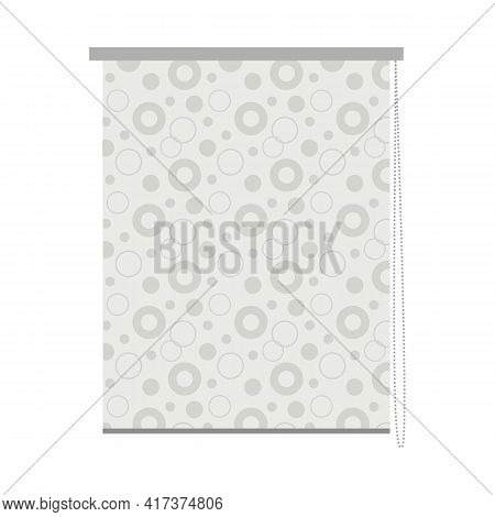 Isolated Object Of Jalousie And Aluminum Icon. Web Element Of Jalousie And Plastic Stock Vector Illu