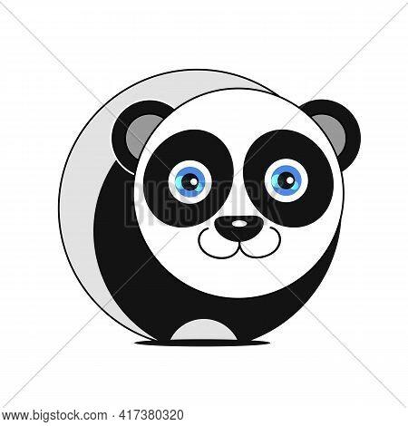 Vector Panda, Illustration Panda, Vector Illustration. Animal