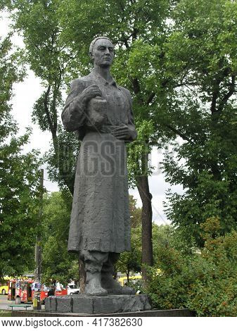 Kiev, Ukraine, August 6, 2008 Monument To The Poet And Philosopher Grigory Skovoroda
