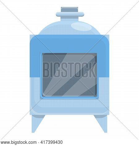 Oven Press Form Machine Icon. Cartoon Of Oven Press Form Machine Vector Icon For Web Design Isolated