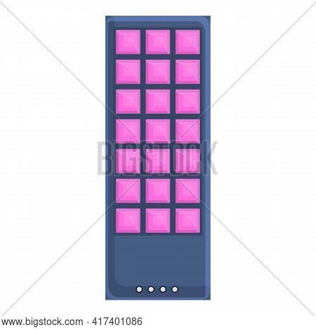 Uv Led Panel Icon. Cartoon Of Uv Led Panel Vector Icon For Web Design Isolated On White Background