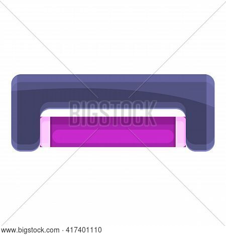 Uv Lamp Icon. Cartoon Of Uv Lamp Vector Icon For Web Design Isolated On White Background