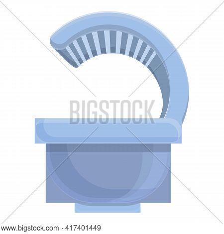 Solarium Spa Icon. Cartoon Of Solarium Spa Vector Icon For Web Design Isolated On White Background