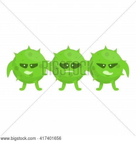 Strong Antibiotic Resistance Icon. Cartoon Of Strong Antibiotic Resistance Vector Icon For Web Desig
