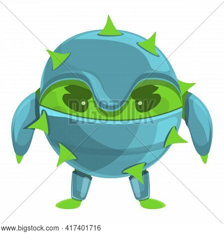 Disease Antibiotic Resistance Icon. Cartoon Of Disease Antibiotic Resistance Vector Icon For Web Des