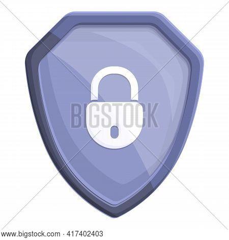 Alarm Password Protection Icon. Cartoon Of Alarm Password Protection Vector Icon For Web Design Isol