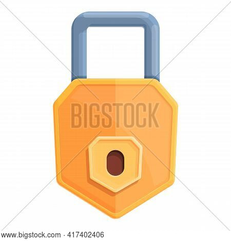 Defend Password Protection Icon. Cartoon Of Defend Password Protection Vector Icon For Web Design Is