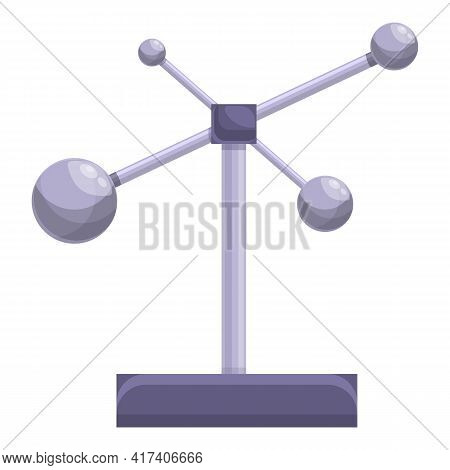 Perpetual Motion Stand Icon. Cartoon Of Perpetual Motion Stand Vector Icon For Web Design Isolated O