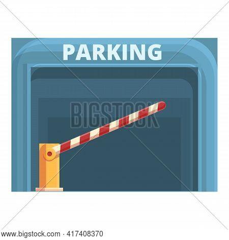 Subterranean Paid Parking Icon. Cartoon Of Subterranean Paid Parking Vector Icon For Web Design Isol