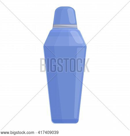 Vacuum Bottle Icon. Cartoon Of Vacuum Bottle Vector Icon For Web Design Isolated On White Background