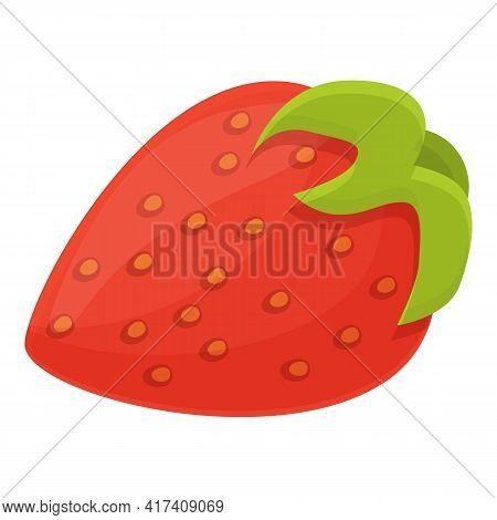 Fruit Vitamin Icon. Cartoon Of Fruit Vitamin Vector Icon For Web Design Isolated On White Background