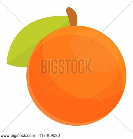 Exotic Fruit Vitamin Icon. Cartoon Of Exotic Fruit Vitamin Vector Icon For Web Design Isolated On Wh