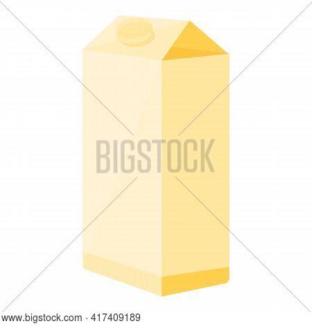 Milk Vitamin Icon. Cartoon Of Milk Vitamin Vector Icon For Web Design Isolated On White Background