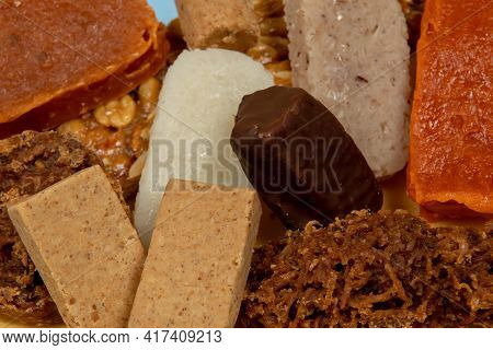 Typical Brazilian Sweets Eaten At The June Parties (festa Junina) And On The Day Of San Cosme E Dami