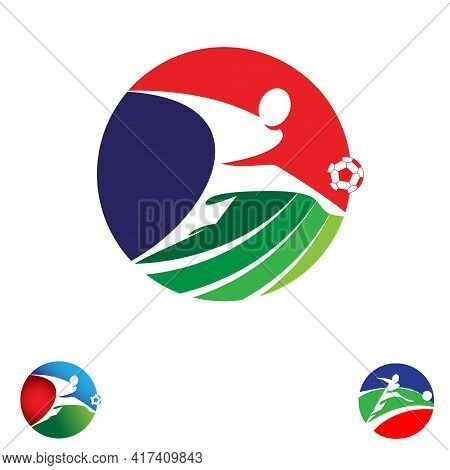 Football League Emblem Concepts Vector Emblem Style