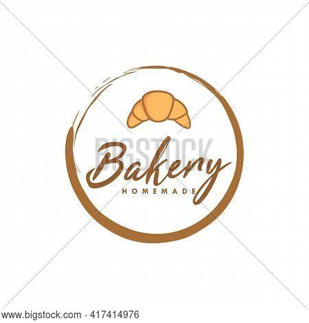 Bakery Logo, Sweet Bakery Logo, Simple Bakery Logo Vector Template