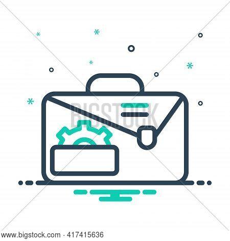 Mix Icon For Service-portfolio Service Portfolio Creative Presentation Technology