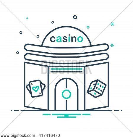 Mix Icon For Casino Poker  Gamble  Slots Gambling