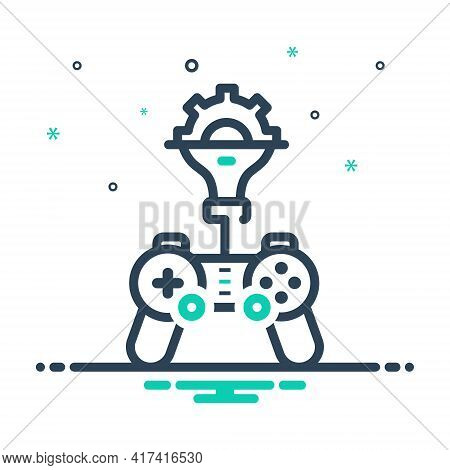 Mix Icon For Game-developing Game Developing Sport Development