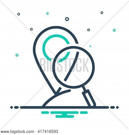 Mix Icon For Local-search Local Search Navigation Pointer Find Location