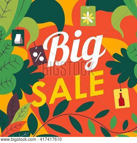 Big Sale Autumn Season Clearance Shopping Discount