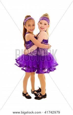 Hugging Tap Dance Friends