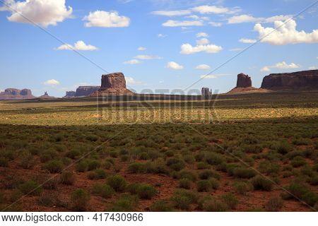 Arizona / Usa - August 05, 2015: Arizona Landscape, Arizona, Usa