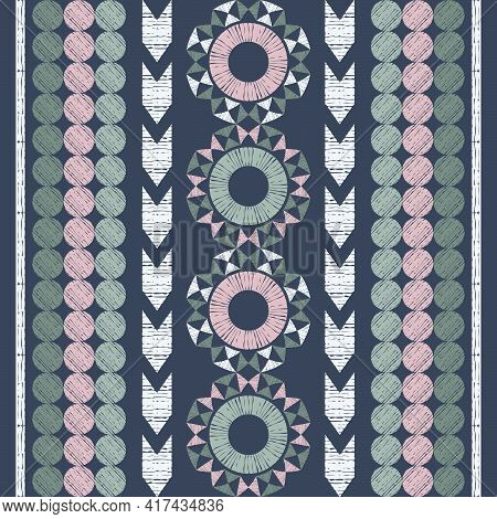 Mexican Plaid. Seamless Pattern.