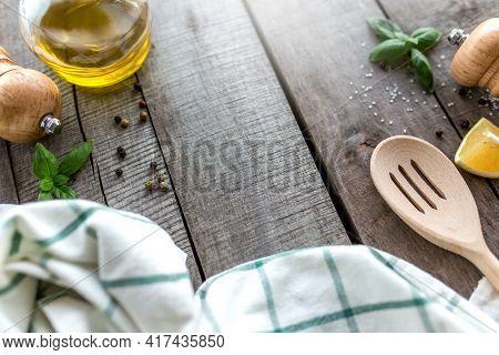 Conceptual Flat Lay. Different Seasonings, Cooking Homemade Sauce, Mayonnnasie, Garlic Sauce, Season