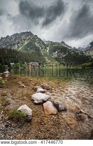Popradske Pleso In High Tatras