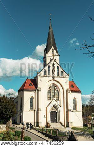 Saint Nicholas Parish Church In Krapina, Croatia.