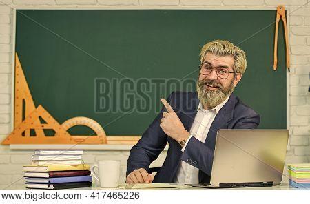 Programming Web Development. Handsome Man Use Modern Technology. Digital Technology. Apply Online Co