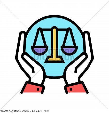 Legislation Law Dictionary Color Icon Vector. Legislation Law Dictionary Sign. Isolated Symbol Illus