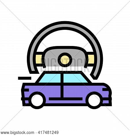 Fast Driving Mens Leisure Color Icon Vector. Fast Driving Mens Leisure Sign. Isolated Symbol Illustr