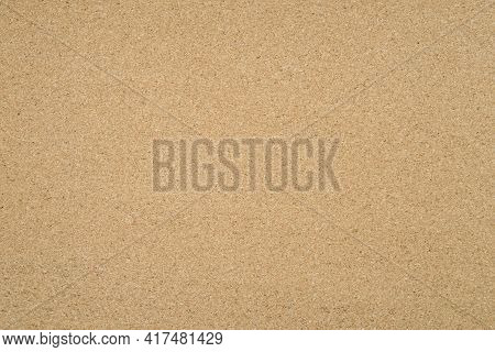 Cork Board For The Office. Cork Background From Natural Material.